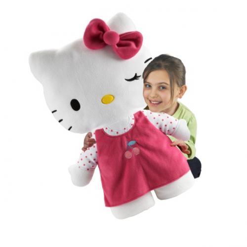 Hello Kitty Cuddle Pillow: Hello Kitty Cuddle Pillow £9.99 @ Smyths
