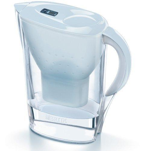 brita marella cool white water filter jug with. Black Bedroom Furniture Sets. Home Design Ideas