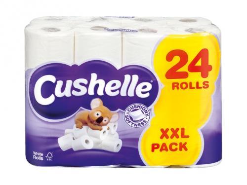 Cushelle toilet tissue 24 rolls lidl hotukdeals - Rollos lidl ...