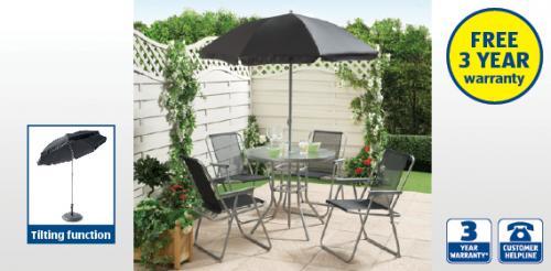 6 Piece Garden Patio Furniture Set £49.99 at Aldi (from 2nd May) -  HotUKDeals - 6 Piece Garden Patio Furniture Set £49.99 At Aldi (from 2nd May