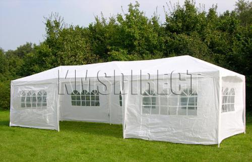 Massive Party Tent Garden Marquee Gazebo Garage 9m x 3m ...