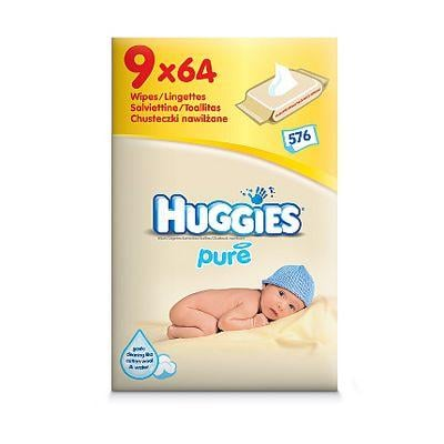 9 packs of huggies pure baby wipes at asda for. Black Bedroom Furniture Sets. Home Design Ideas