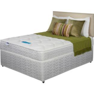 Silentnight tampa supreme microquilt double divan bed delivered argos hotukdeals Argos single divan beds