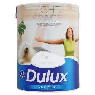 dulux light and space 5l absolute white tesco. Black Bedroom Furniture Sets. Home Design Ideas