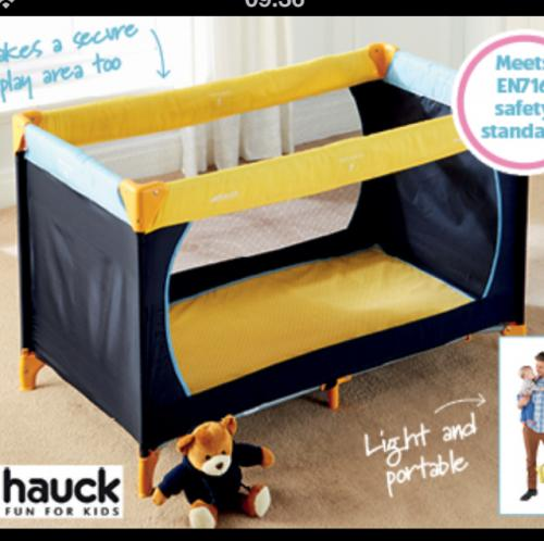 Folding Beds Aldi : Hauck travel cot only ? from thursday th may at