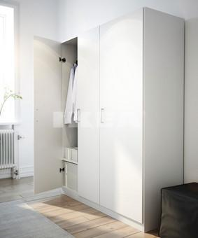 ikea domb s wardrobe white was 80 reduced to. Black Bedroom Furniture Sets. Home Design Ideas
