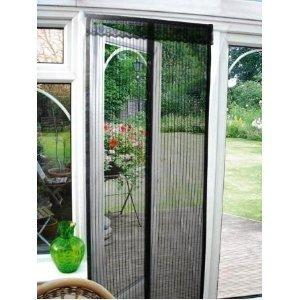 Magnetic flying insect door screen curtain sold by - Moustiquaire pour porte fenetre a enroulement lateral ...