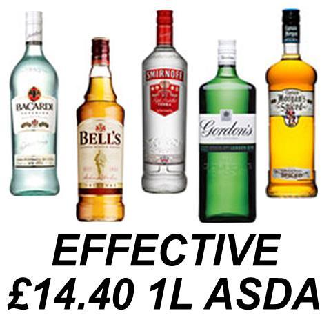 Spirit deals at asda
