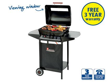 dual burner gas bbq wagon aldi hotukdeals. Black Bedroom Furniture Sets. Home Design Ideas