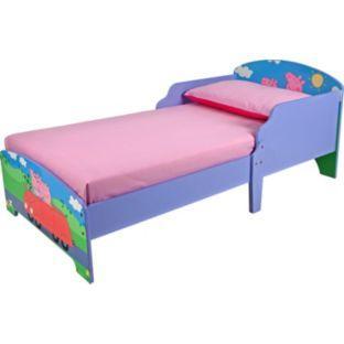 peppa pig toddler bed argos hotukdeals. Black Bedroom Furniture Sets. Home Design Ideas