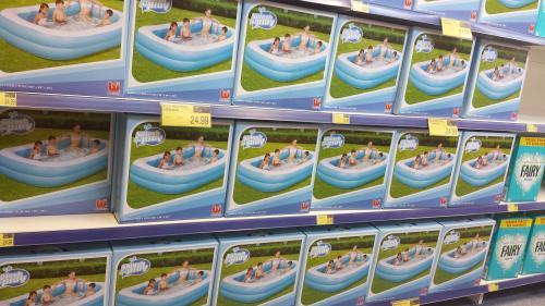Bestway rectangular paddling pool b m hotukdeals for Paddling pools deals