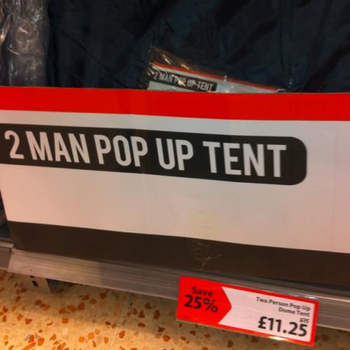 Hot deals pop up