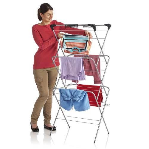 wilko deluxe clothes airer 3 tier 14m was 16 now 10. Black Bedroom Furniture Sets. Home Design Ideas