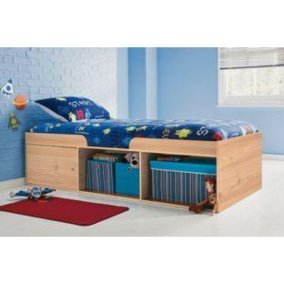Kids Logan Cabin Bed And Mattress GBP17648 At Argos