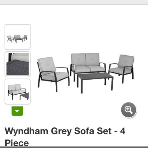 sofa set deals uk ~ wyndham conversation sofa set £75 @asda leeds  hotukdeals
