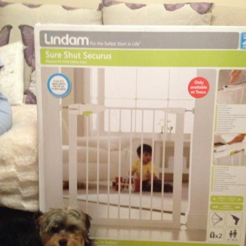 Lindam Sure Shut Securus Safety Gate 163 7 50 In Store