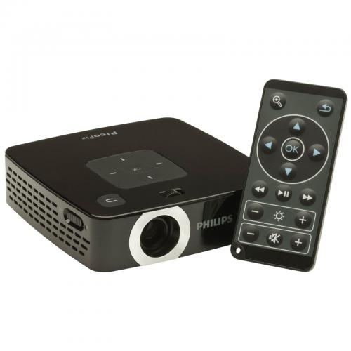 Philips ppx2450 55 lumens pocket projector for Pocket projector deals