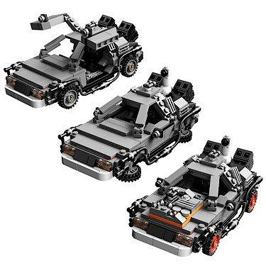 Back To The Future Lego Delorean 163 35 Tesco Hotukdeals