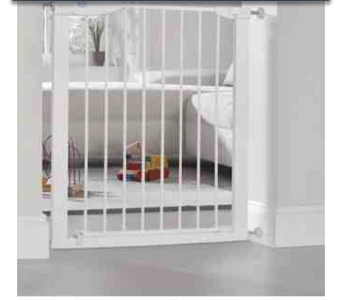 lindam pushloc safety gate half price was now only. Black Bedroom Furniture Sets. Home Design Ideas