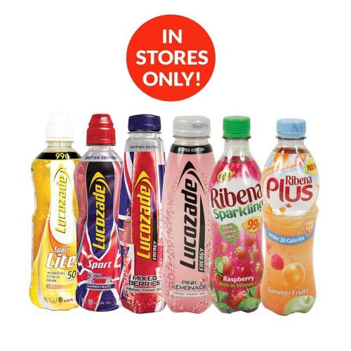 Poundstretcher Drinks Bottles