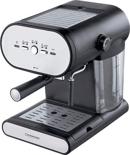 cookworks espresso coffee machine instore at. Black Bedroom Furniture Sets. Home Design Ideas