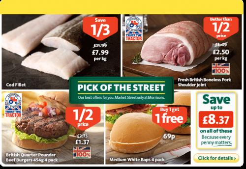 1/2 Price Fresh British Boneless Pork Shoulder Joint - £2 ...