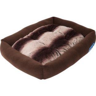 rspca pet bed chocolate brown stripe argos. Black Bedroom Furniture Sets. Home Design Ideas