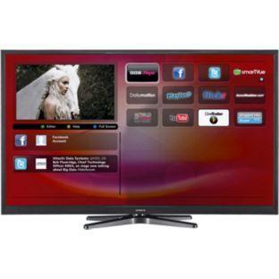hitachi 50 inch full hd 1080p freeview hd smart led tv. Black Bedroom Furniture Sets. Home Design Ideas