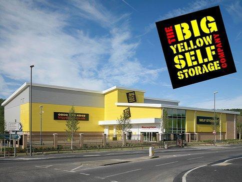 50 voucher for big yellow self storage amazon local hotukdeals. Black Bedroom Furniture Sets. Home Design Ideas