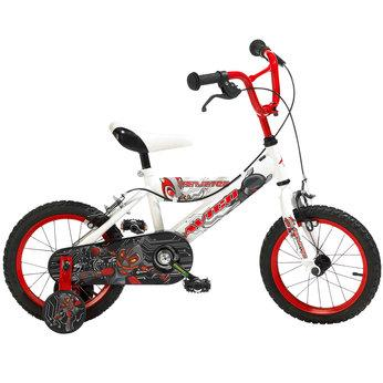 The Avigo 2 Hot 18 inch Girl's BMX Bicycle is a great bicycle! It has a swoop frame, bag, trainers and foot brake. BMX Bicycles are used for tricks, racing and stunts on hilly dirt tracks. Toys