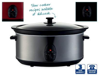 large 6 5l slow cooker aldi hotukdeals. Black Bedroom Furniture Sets. Home Design Ideas