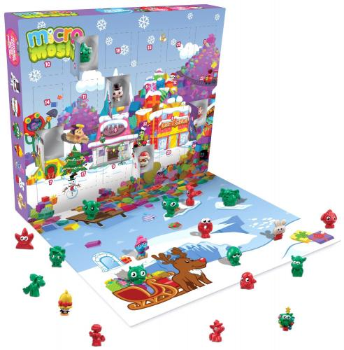 moshi monsters micro advent calendar new 2013 10. Black Bedroom Furniture Sets. Home Design Ideas
