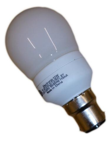 General Electric Energy Efficient Light Bulb Pack Of 10 12w B22 Gls Cfl Equivalent To 60w