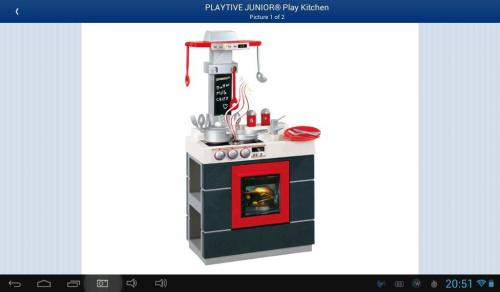 Playtive junior play kitchen lidl hotukdeals for Playtive junior cuisine