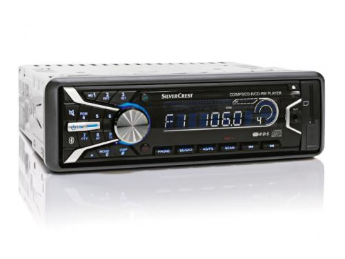 silvercrest bluetooth car stereo at lidl from 25. Black Bedroom Furniture Sets. Home Design Ideas