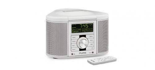 chronos idock series 2 dab digital fm clock radio with dock for ipod ip. Black Bedroom Furniture Sets. Home Design Ideas