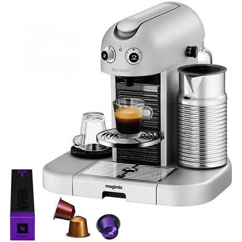 nespresso gran maestria coffee machine by magimix 199. Black Bedroom Furniture Sets. Home Design Ideas