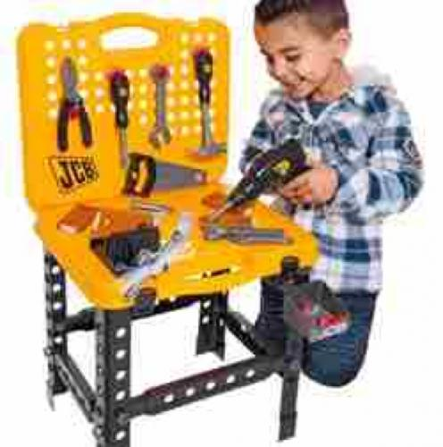 Kids Jcb Bench Amp Tools 163 9 99 Argos Black Friday Hotukdeals