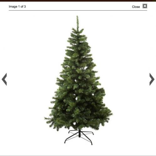 sainsburys christmas tree was 50 now hotukdeals. Black Bedroom Furniture Sets. Home Design Ideas
