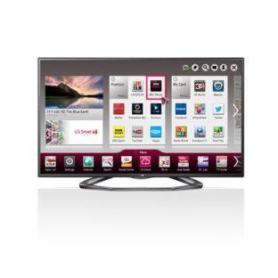 lg 55la620v 55 inch 1080p freeview hd led smart tv. Black Bedroom Furniture Sets. Home Design Ideas