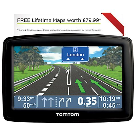 Tom Tom XL IQ Routes GPS @ John Lewis