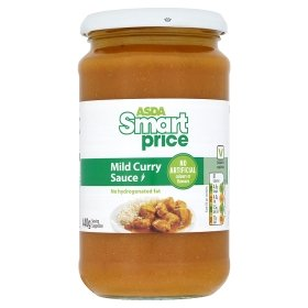 Asda smart price curry sauce 20p hotukdeals for Smart price