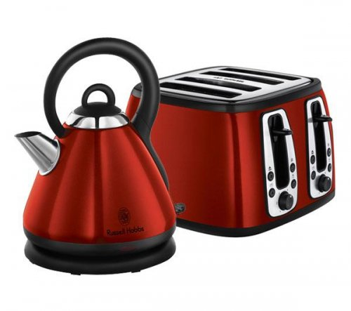 russell hobbs kettle and 4 slice toaster set available in. Black Bedroom Furniture Sets. Home Design Ideas