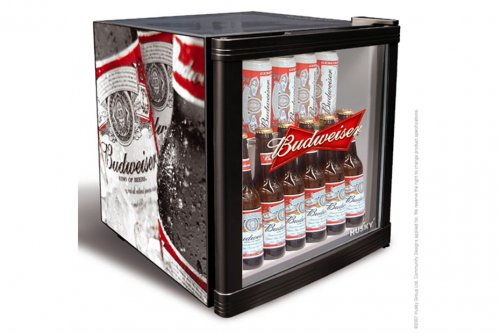 Win A Budweiser Mini Fridge From Husky Square Mile