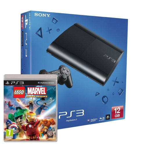 Sony Playstation 3 PS3 GB + Lego Marvel Superheroes £134.99 delivered from Amazon - HotUKDeals