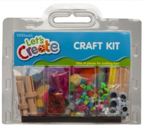 Whsmith children 39 s art and craft set was now 3 for Arts and crafts sets for kids