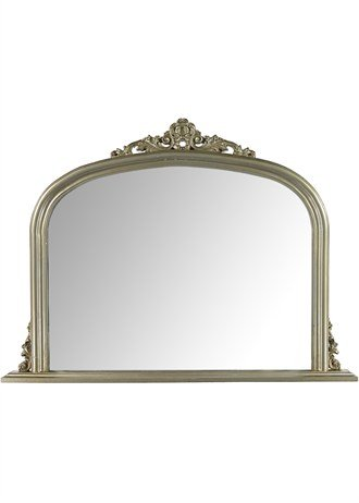 gold mantle mirror 90cm x 120cm half price was 60
