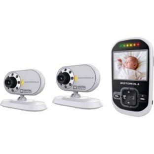 motorola mbp26 digital video baby monitor twin pack at argos hot. Black Bedroom Furniture Sets. Home Design Ideas