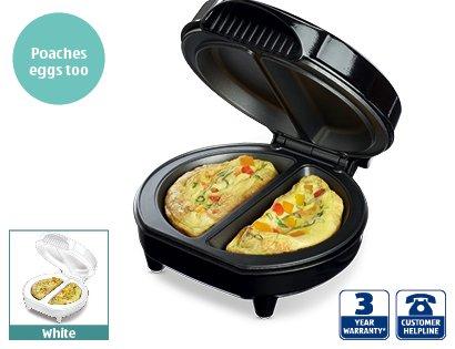Aldi Coffee Maker Deals : Omelette Maker ?12.99 @ Aldi - From Sunday 12th Jan - HotUKDeals