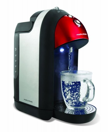 morphy richards accents one cup hot water dispenser kettle. Black Bedroom Furniture Sets. Home Design Ideas